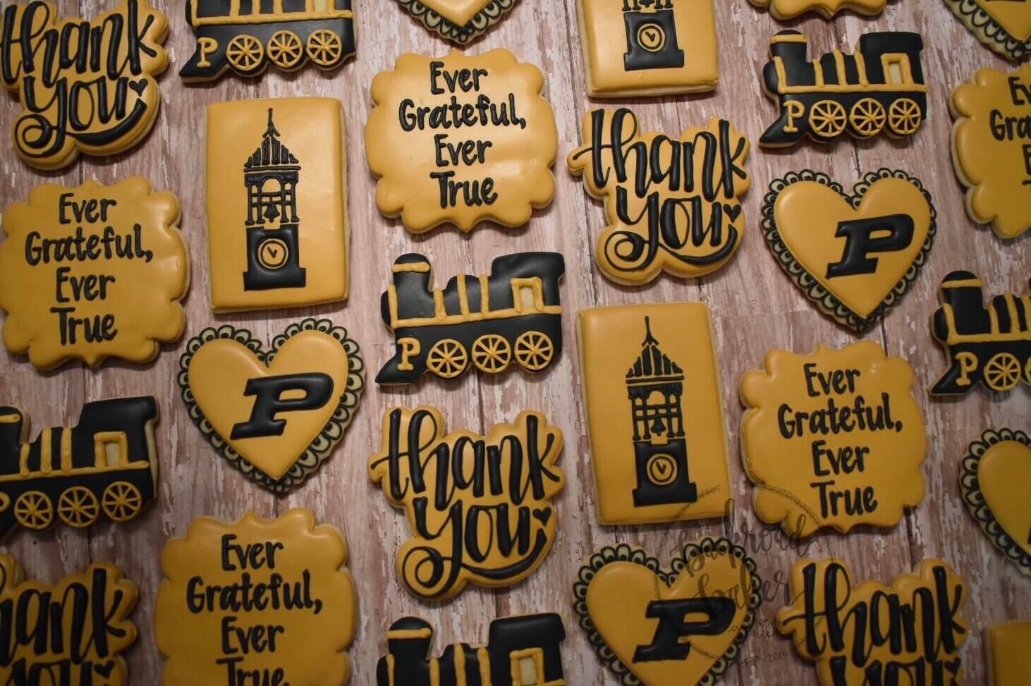 Various Purdue Cookies