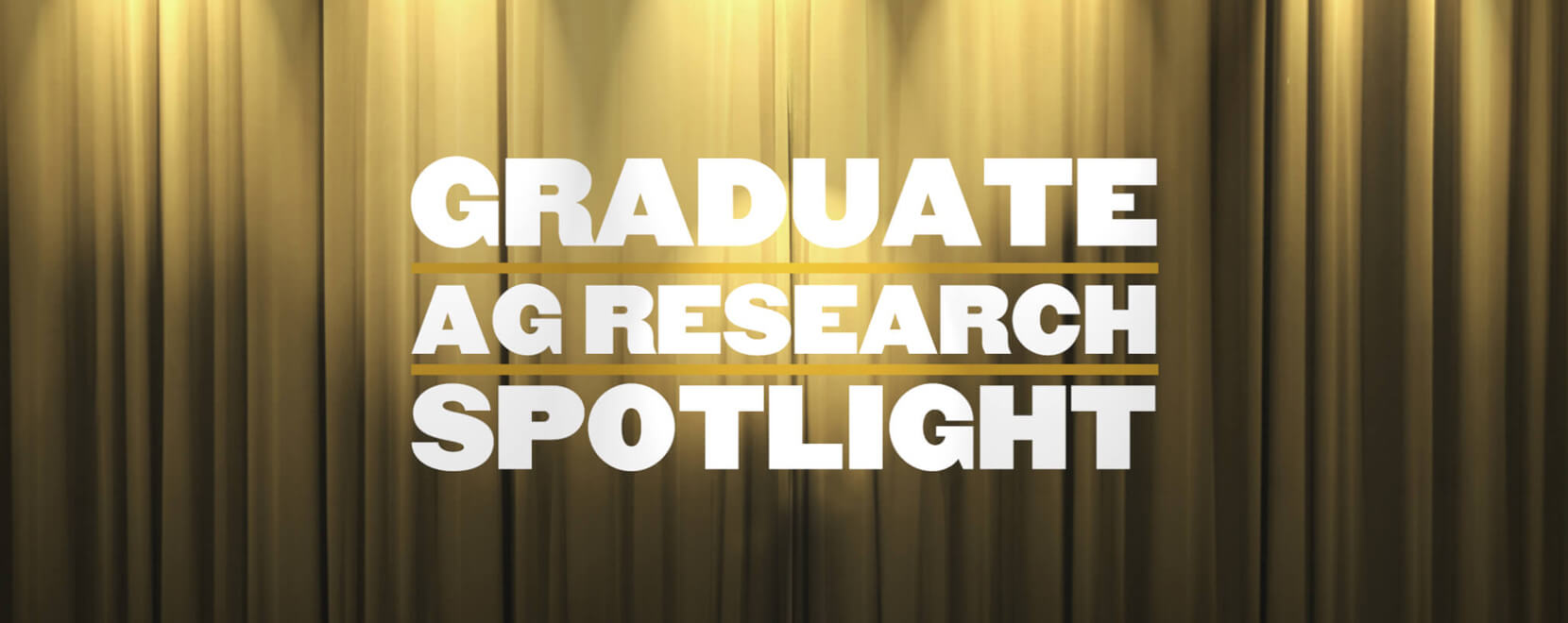 Graduate Ag Research Spotlight: Omar Zayed