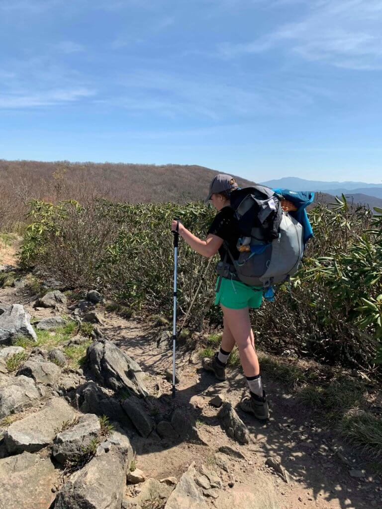 Hiking at the Smoky Mountain National Park