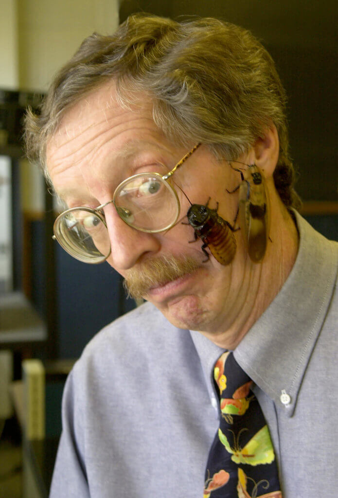 Tom Turpin, entomolgoy professor emeritus