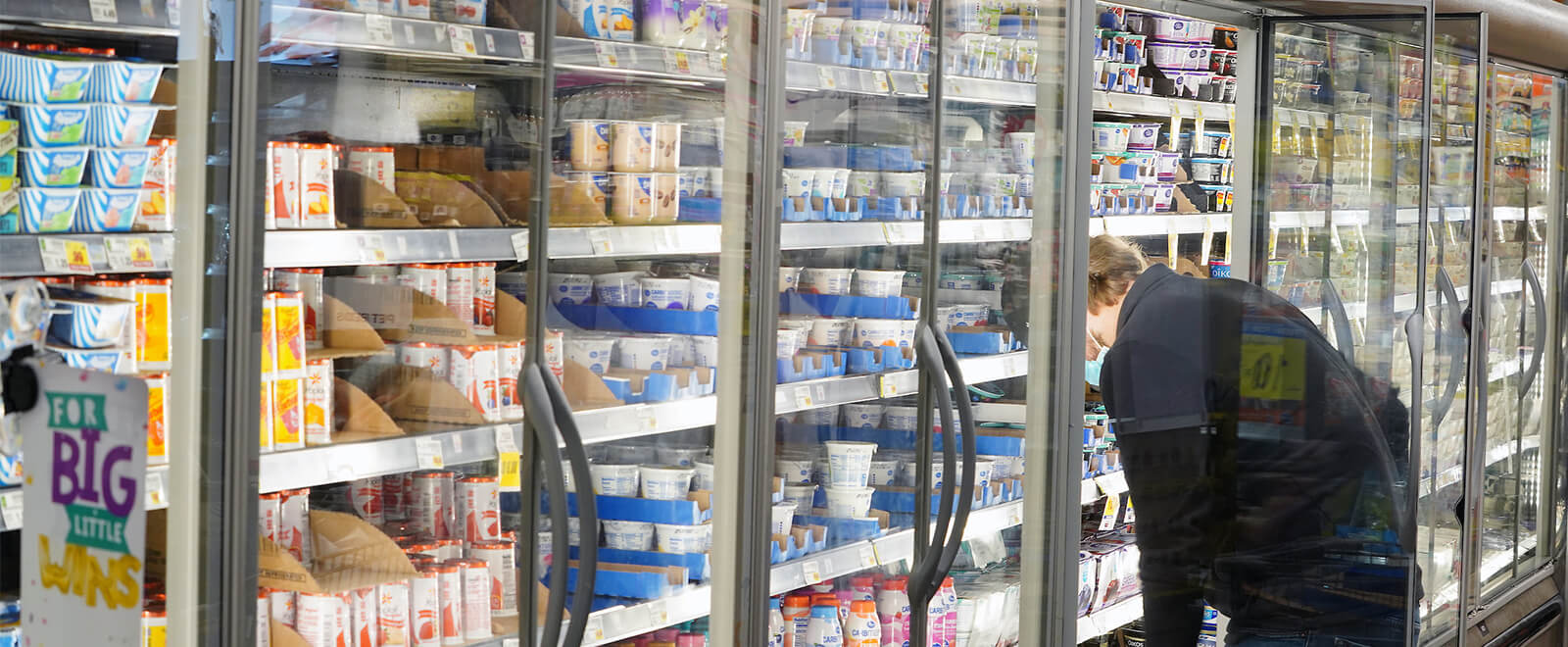 Yogurt Aisle at grocery