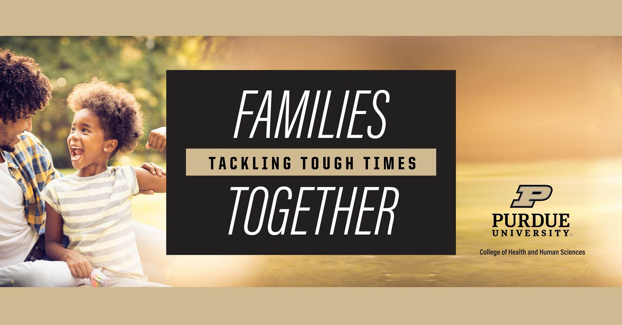 Families Tackling Tough Times Together Banner