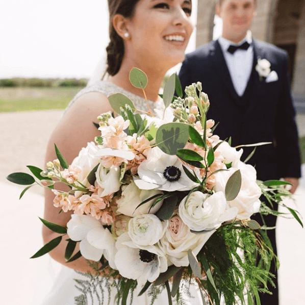 Bridal Bouquet at wedding