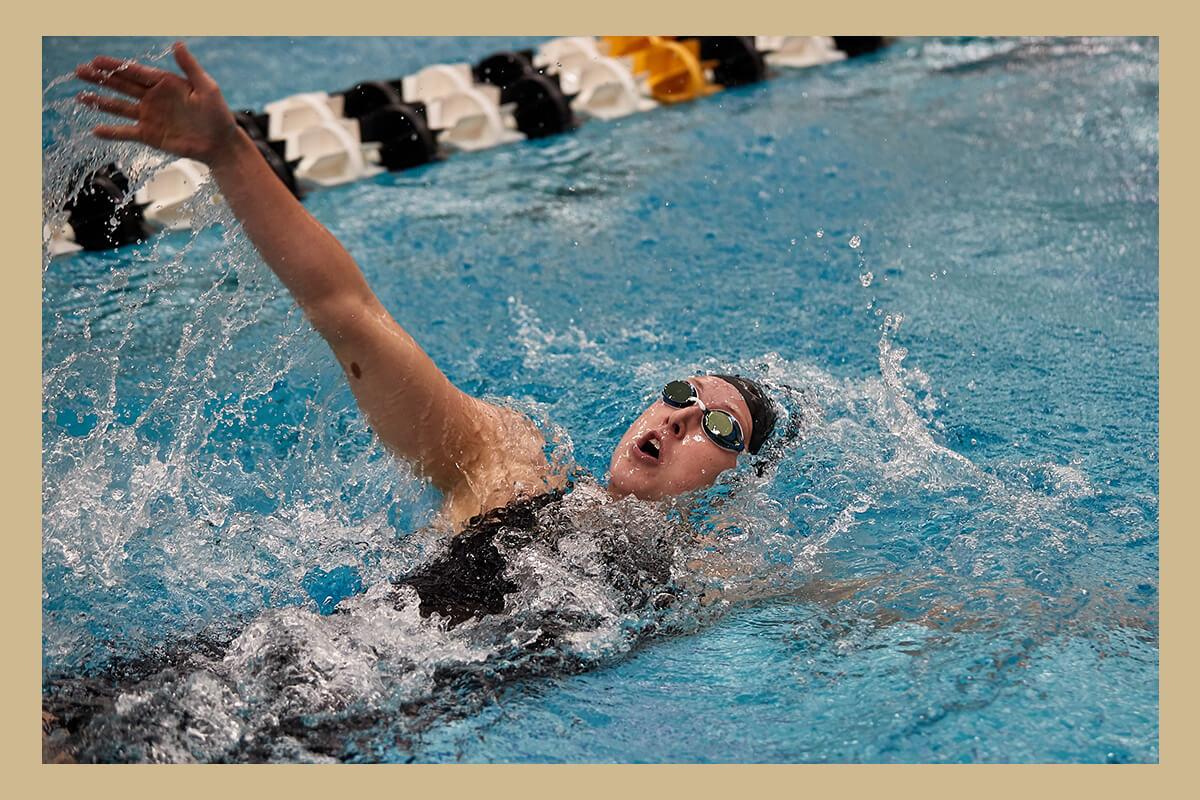 Natalie Mudd Swimming