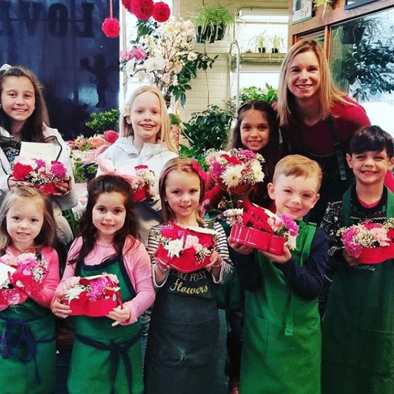Kids flower class