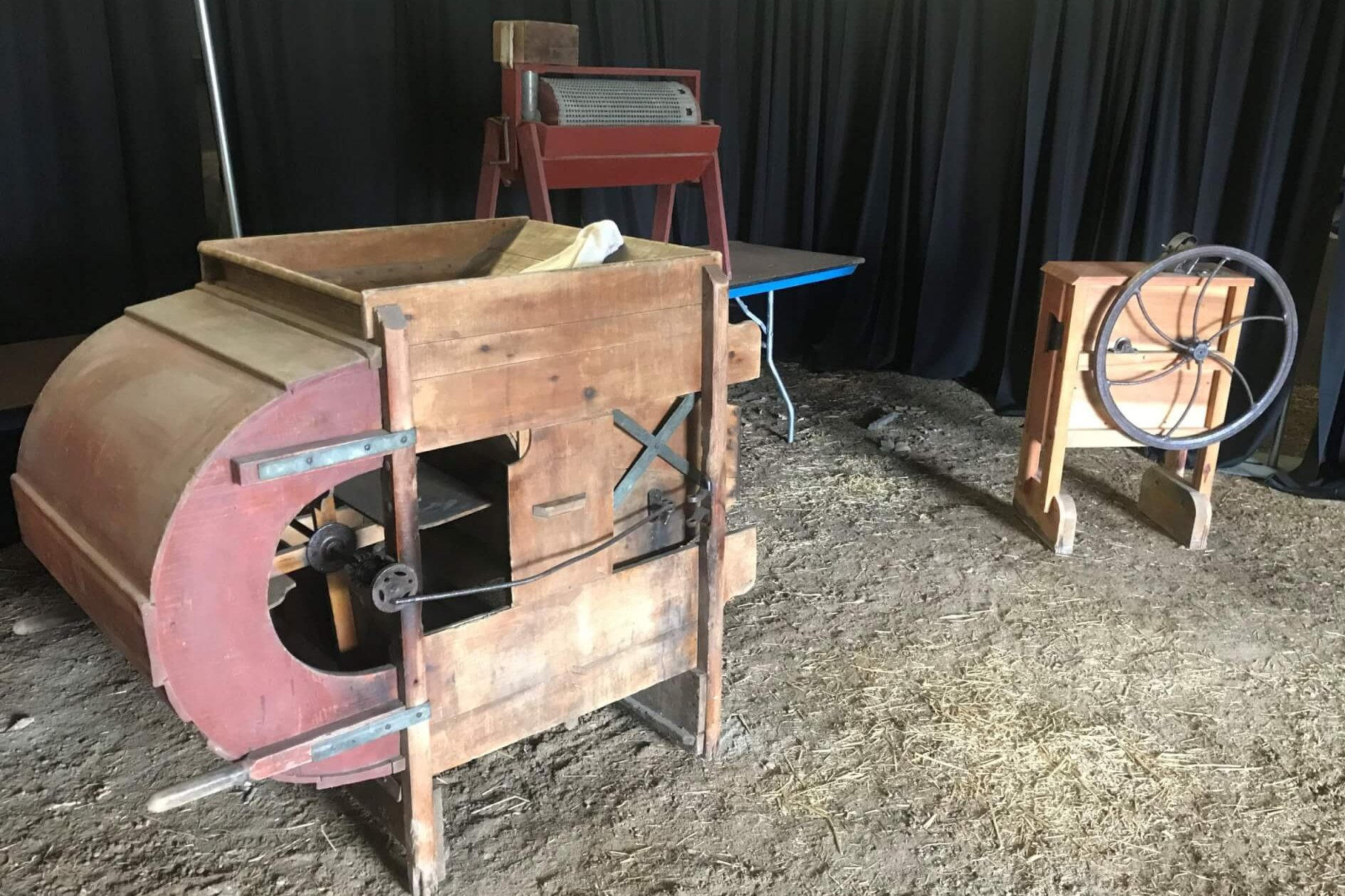 Original Soybean Seed Equiptment from Fouts farm