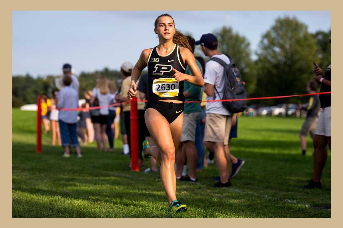 Taylor Mortensen running for Purdue