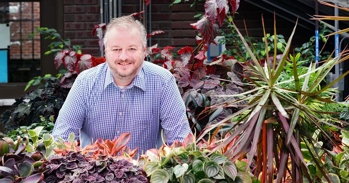 Kalbaugh among plants