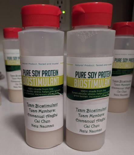 Biostimulant in bottle