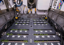 Scientists on a previous mission use the Advanced Plant Habitat for experiments on the International Space Station. (Photo courtesy of NASA)